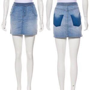 Marc by Marc Jacobs Light Wash Denim Mini Skirt